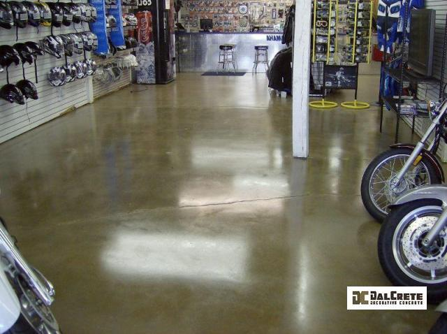commercial conrete floor