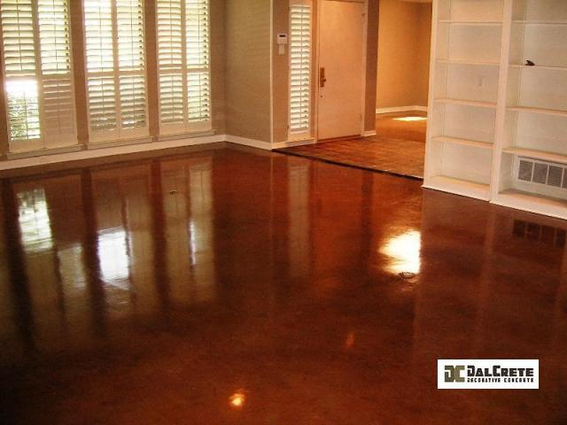Custom Decorative Concrete Overaly